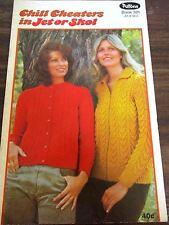 Patons Ladies knitwear knitting pattern no. 321 in Jet or skol