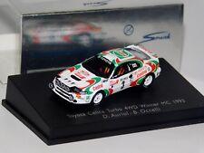 TOYOTA CELICA TURBO 4WD WINNER MONTE CARLO 1993 #3 AURIOL SPARK 87S023 1/87