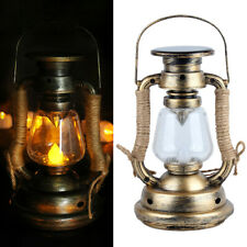 Garden Solar-Powered LED Candle Table Lantern Hanging Light Outdoor Lamp