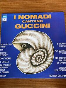 I Nomadi Cantano Guccini Vinile Lp