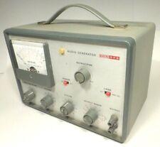 Eico Audio Generator Model 378 Tested Amp Working 1mw 600 Ohms