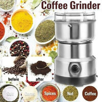 LT_ Coffee Grinder Stainless Electric Herbs/Spices/Nuts/Grains/Coffee Bean Gri