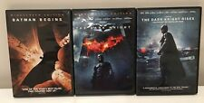 Batman Trilogy (Batman Begins, The Dark Knight & The Dark Knight Rises) DVD