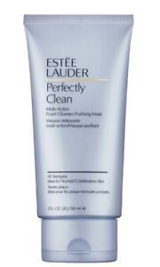 Estee Lauder Perfectly Clean Multi-Action Foam Cleanser Moisture Mask 150ml
