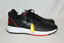 adidas Men's F36716 Courtsmash Tennis Shoes Black / Red Sneakers Running Sz 10.5