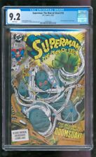 CGC 9.4 SUPERMAN THE MAN OF STEEL #18 1992 1ST FULL APPEARANCE OF DOOMSDAY WOW!!