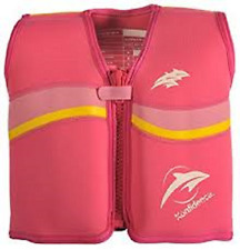 The Original Konfidence Jacket for Bouyancy Pink  4-5 Years