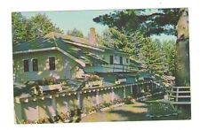 used postcard Three Lakes Wisconsin WIS WI