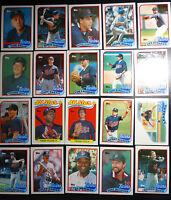 1989 Topps Minnesota Twins Team Set of 29 Baseball Cards