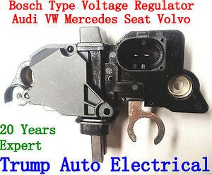 Votage Regulator Bosch Audi VW Golf Passat Polo Mercedes Seat Volvo alternators