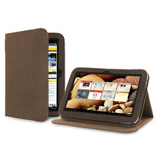 Cover-Up Hemp Version Stand Case for Lenovo IdeaTab A2109 Tablet - Cocoa Brown
