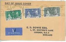 GIBRALTAR -  POSTAL HISTORY:  FDC COVER - 1937 Coronation of King George VI