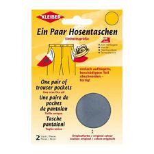 Hosentaschen (Jeans ) Reparatur 2 St. Kleiber KL110 viele Farben aufbügelbar