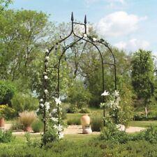 Gothic Victorian Steel Arch ~ Garden Arbor Outdoor Climbing Plant Yard Archway