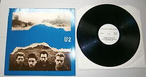 """U2 - IN THE HANDS OF DESIRE AND LOVE LP 33 Giri 12"""" Paris 12.12.89 GNK UT09053"""
