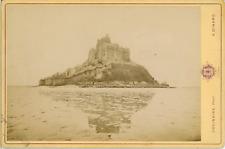 Ordinaire, Dinard, Le Mont Saint Michel  Vintage albumen print. Vintage France.