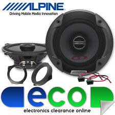BMW 3 Series E46 Alpine 400 Watts 13cm Front Door 2 Way Car Speakers