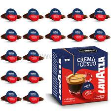 16 x Lavazza a Modo mio Caffè Espresso crema e gusto per il caffè MACCHINA BACCELLI Capsule Nuova