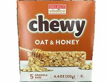 Lot 3 Select Choice Chewy oat & Honey Granola Bars,5-ct. Boxes.