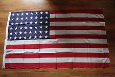 REPLIQUE DU DRAPEAU AMERICAIN 48 Etoiles  EN POLYESTER IMPRIME FORMAT 150 X90 cm