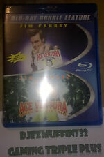 ACE VENTURA DOUBLE FEATURE BLU RAY (PET DETECTIVE + WHEN NATURE CALLS) OOP VHTF
