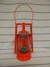Old Vtg Antique Dietz Tubular Oil Lantern Lamp Buggy Dash Attachment & Magnifier