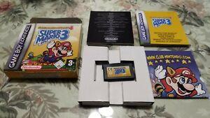 SUPER MARIO BROS 3 ADVANCE 4 PAL ESPAÑA gameboy Game Boy gba