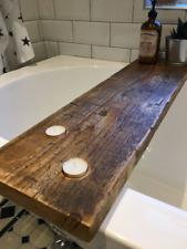 Rustic Scaffold Board Bath Caddy - Bath Shelf - Bath Tray