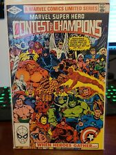 Marvel Super Hero Contest Of Champions #1 Direct Edition