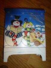 Child's Christmas Jewelry Box