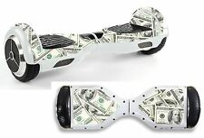 Money Notes Sticker/Skin Hoverboard / Balance Board Hov19