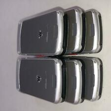New listing Lot of 6 Motorola Adventure V750 Camera Flip Cell Phone Silver Verizon Bulk 445
