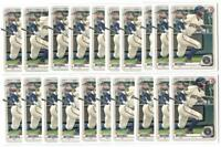 x100 GARRETT MITCHELL 2020 1st Bowman Draft #118 Rookie Card RC lot/set Brewers!