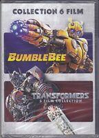6 Dvd Box Cofanetto  BUMBLEBEE + TRANSFORMERS COLLECTION 6 FILM serie completa
