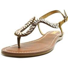 Sandalias y chanclas de mujer Carlos de tacón bajo (menos de 2,5 cm) de lona