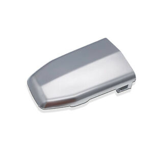 Front Door Handle Lock Cylinder Cover Chrome for 2015-2018 Cadillac Escalade ESV
