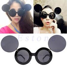 Retro Lady Mickey Mini Mouse Flip Up Paparazzi Sunglasses Glasses Shades Eyewear