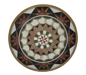 Marble table top, marble coffee table, antique marble top coffee table inlay flo