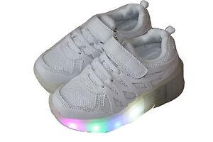 Led Damen Jungen Kinder Sneakers Leuchtende Blinkende Schuhe Licht