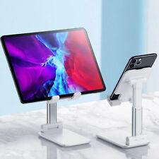 Adjustable Mobile Phone Stand Desktop Holder Table Desk For iPhone iPads Tablets