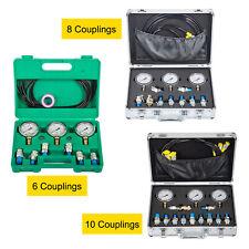Hydraulic Pressure Test Kit Gauge Diagnostic For Caterpillar Komatsu Excavator