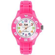 Ice watch Kids Ice-Mini-Pink-Mini Child's MN.PK.M.S.12 Analogue Silicone Pink