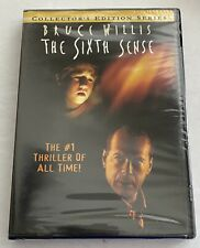 New Sealed The Sixth Sense Dvd. Collector's Edition Series