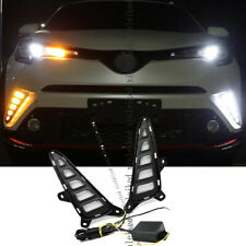 For Toyota CHR C-HR 2016-2019 DRL Side Signal Lights W/ Switchback Function 2PCS