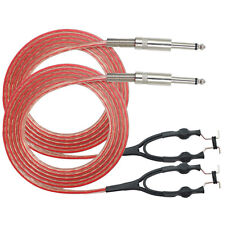 2.5M 1PC FLEXIBLE SILICONE CLIP CORD FOR TATTOO POWER SUPPLY
