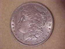 1880 P MORGAN SILVER DOLLAR PHILADELPHIA AMERICAN COIN PENNSYLVANIA COINAGE 19TH