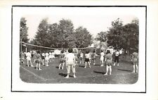 Poultney Vermont~Green Mountain Jr College~Girls Playing Volleyball~1950s RPPC
