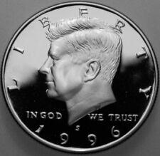 1996 S KENNEDY PROOF 90/% SILVER DEEP CAMEO HALF DOLLAR  #56R