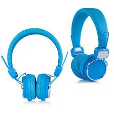 Urban Sound® Kopfhörer Headset Earphone + Mic für iPhone iPad iPod Samsung Blau