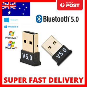 Mini Wireless USB Bluetooth V5.0 Adapter Dongle Receiver PC Win 7 8 10 XP Vista